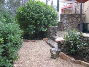 Terrasse citronnier